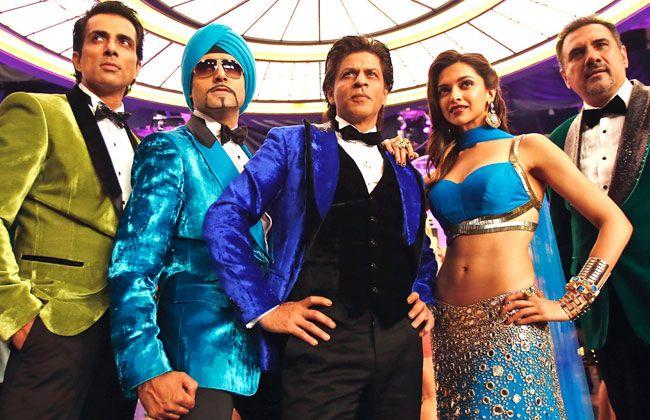 Shah Rukh Khan, Deepika Padukone, Sonu Sood, Boman Irani