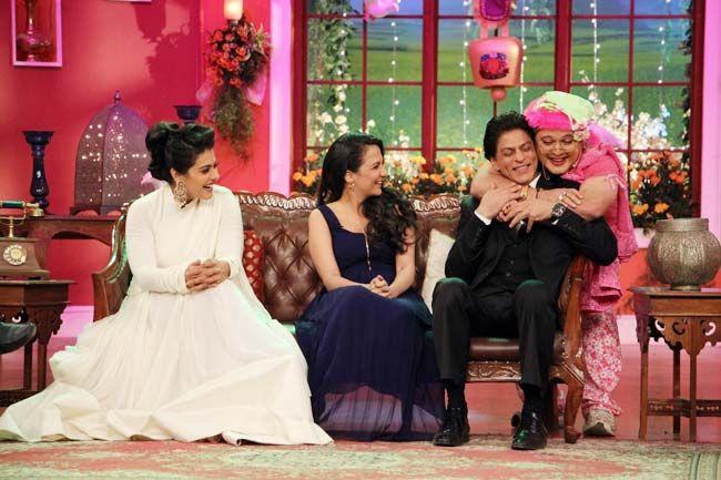 Kajol, Shah Rukh Khan, Pooja Ruparel, Ali Asgar