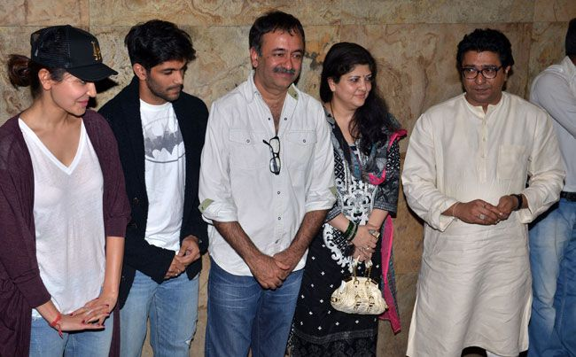 Anushka Sharma, Rajkumar Hirani, Raj Thackeray, Amit Thackeray