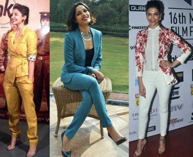 Freida Pinto, Deepika Padukone, Anushka Sharma
