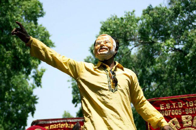 Modi's rally at Ramlila Maidan
