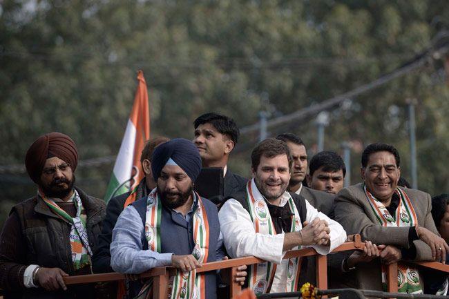 Rahul Gandhi rally in Delhi
