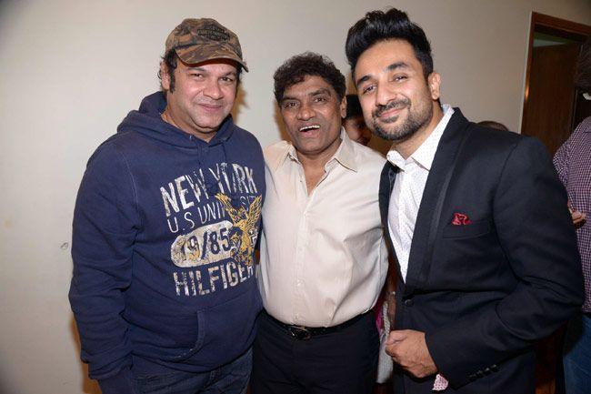 Suresh Menon, Johnny Lever, Vir Das