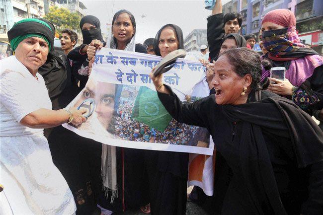 Srinagar protests