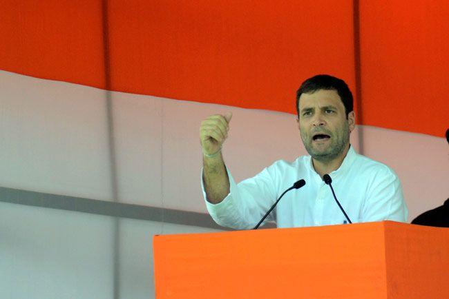 Congress rally on Land Bill