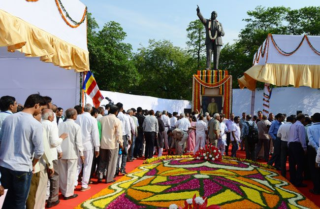 Ambedkar Jayanti celebrations