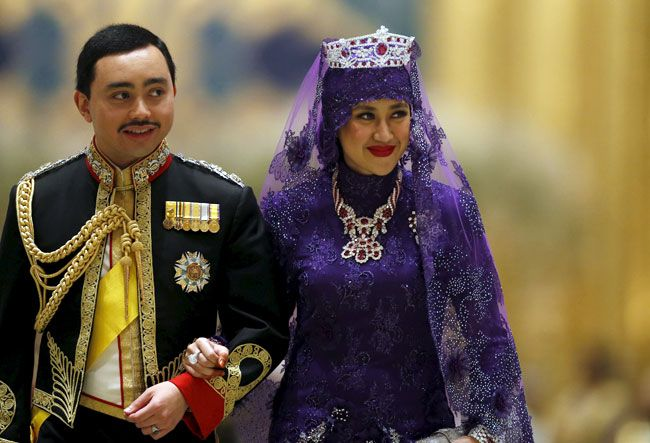 Pictures of Brunei Sultan's son's wedding that you shouldn't miss