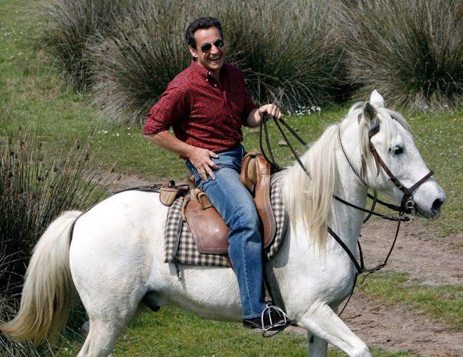 France's former president Nicolas Sarkozy