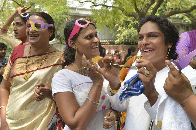 Transgenders celebrate one-year anniversary of third gender