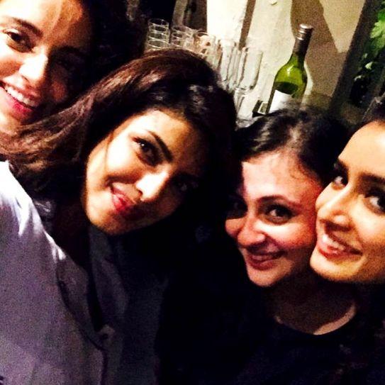 Priyanka Chopra, Kangana Ranaut, Shraddha Kapoor