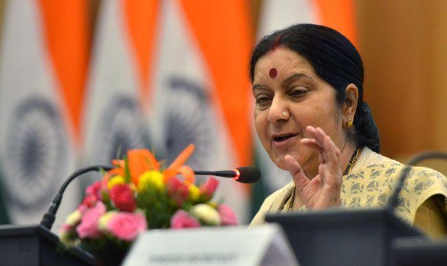 Sushma Swaraj, NDA