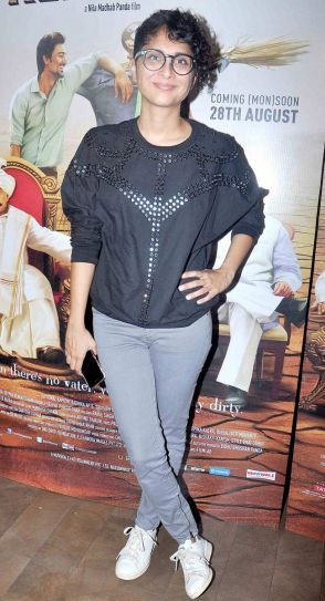 Kiran Rao at Kaun Kitney Paani Mein screening