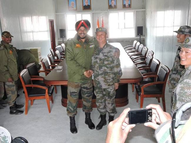 A first: Indian, Chinese army officials hold meeting in Ladakh