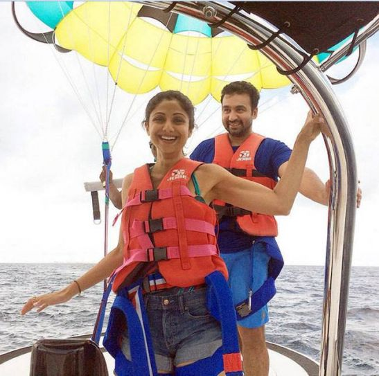 Kansas Weekend Couples Getaway: Maldives Diaries: Shilpa Shetty Celebrates Raj Kundra's