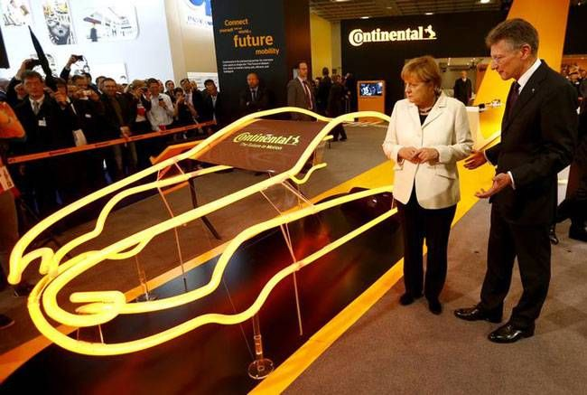 Continental Booth