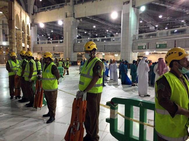 Mecca grand mosque accident