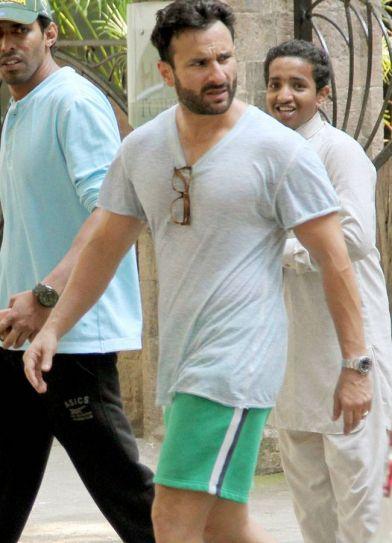 Saif Ali Khan in Mumbai