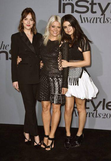 Dakota Johnson,Kate Young and Selena Gomez