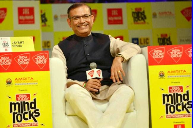 Minister of State for Finance, Jayant Sinha