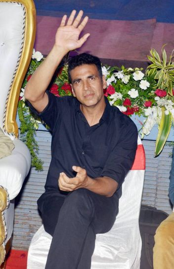 Akshay Kumar at the special screening of Singh Is Bliing