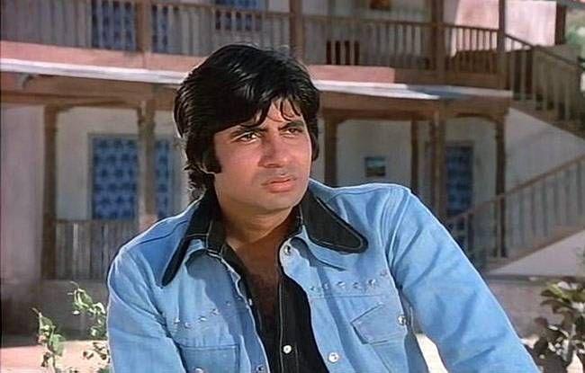 Amitabh Bachchan in a still from Sholay
