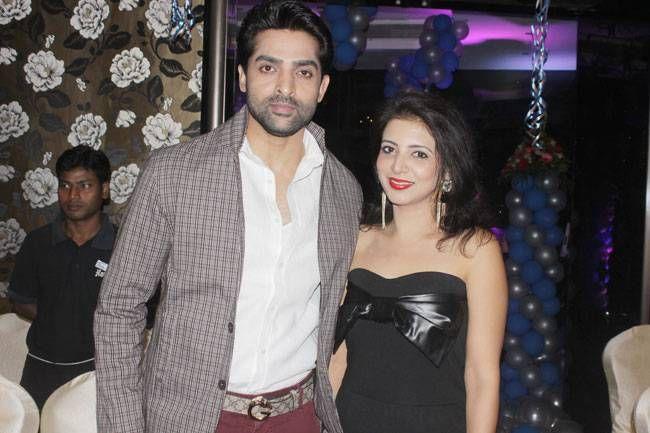 Bani - Ishq Da Kalma actor Adhvik and wife Neha Mahajan look picture perfect.