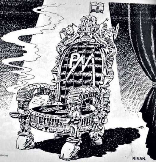 India Today 40th anniversary: 13 cartoons on political