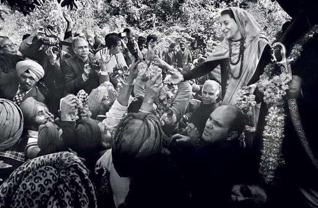 Indira Gandhi photographs