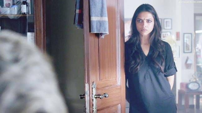 Deepika Padukone in a still from Piku