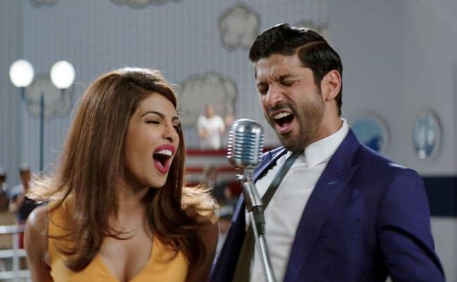 Farhan Akhtar and Priyanka Chopra in Dil Dhadakne Do