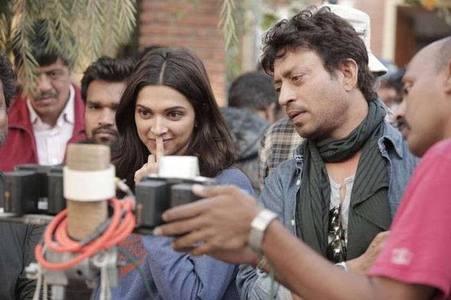 Irrfan and Deepika Padukone in Piku
