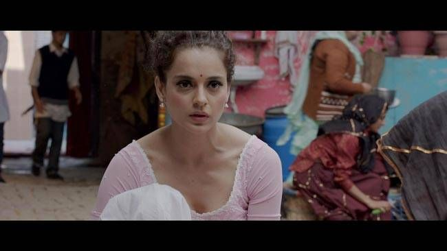 Kangana Ranaut in a still from Tanu Weds Manu Returns