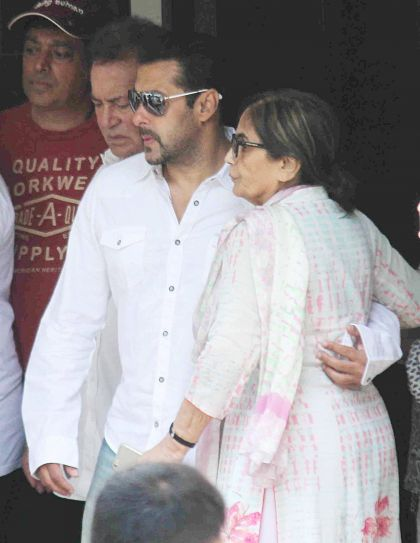Salman Khan and Salma Khan