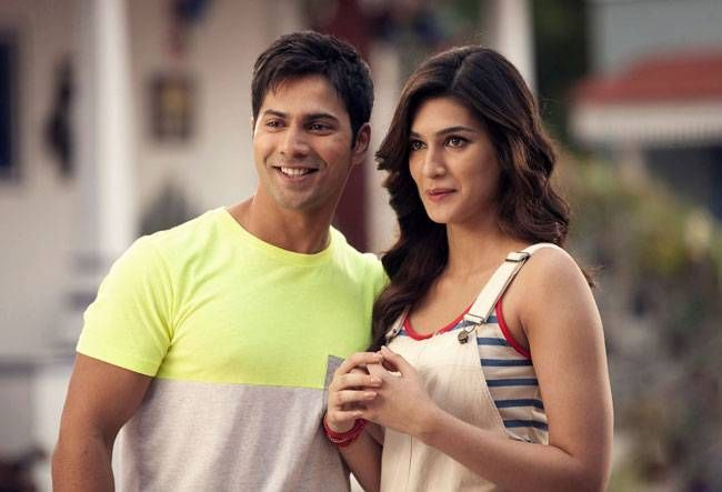 Varun Dhawan and Kriti Sanon in Dilwale