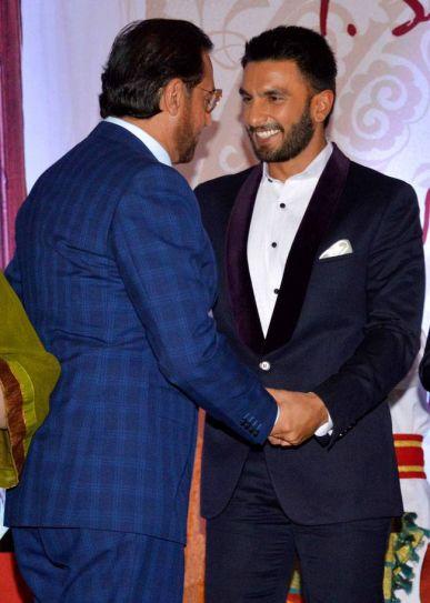 Gulshan Grover (L) and Ranveer Singh