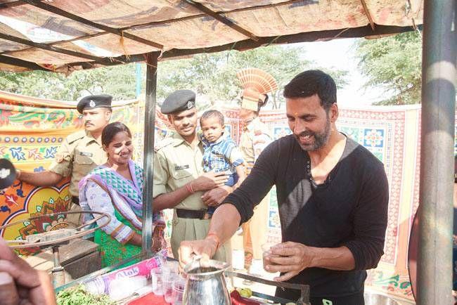 Akshay Kumar will turn juice seller for Mission Sapne.