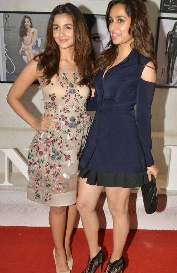 Shraddha Kapoor and Alia Bhatt at Dabboo Ratnani's calendar launch