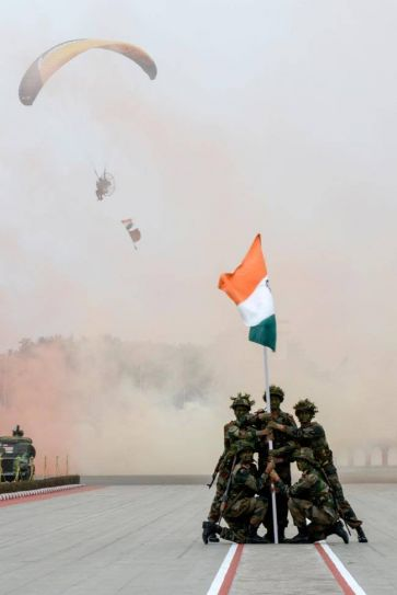68th Indian Army Day celebrated in Delhi