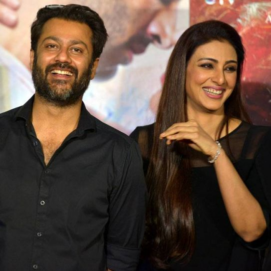 Abhishek Kapoor and Tabu at Fitoor trailer launch