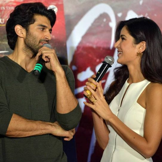 Aditya Roy Kapur and Katrina Kaif at Fitoor trailer launch