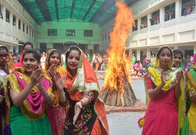 The festival of Lohri
