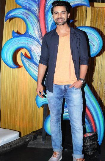 TV actor Shravan Reddy is all smiles at the launch of Colors show Krishnadasi.