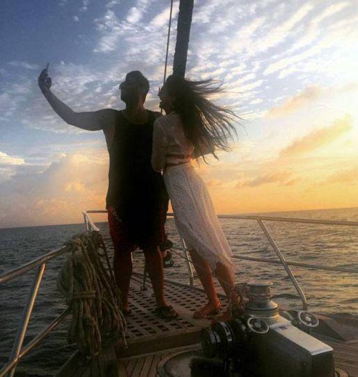 Sonam Kapoor and Arjun Kapoor in Maldives