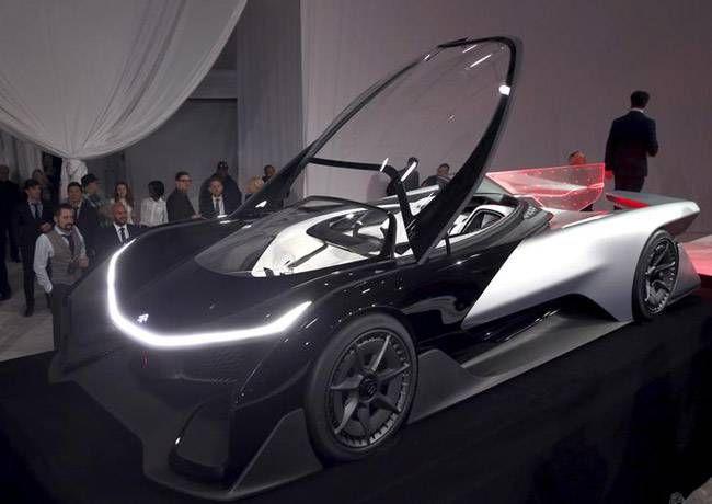FFZERO1 concept electric race car