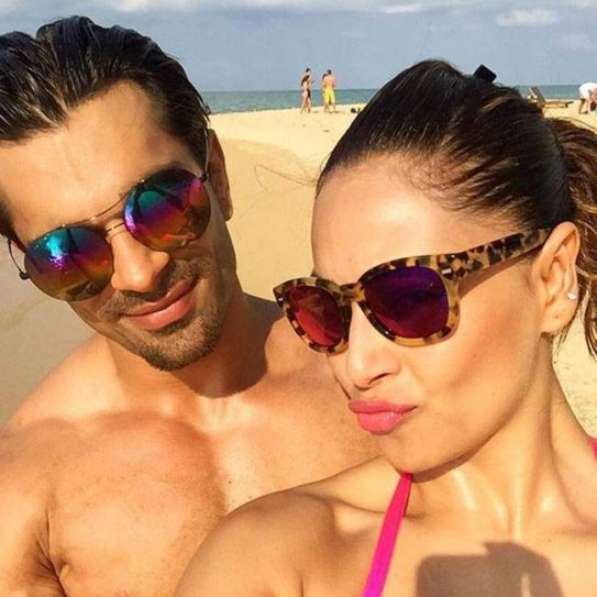 Bipasha Basu with rumoured boyfriend Karan Singh Grover