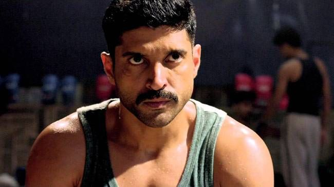 Farhan Akhtar in a still from Wazir
