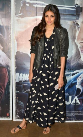 Athiya Shetty at Neerja's screening