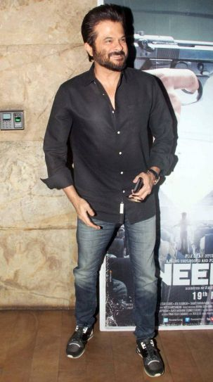 Anil Kapoor at Neerja screening