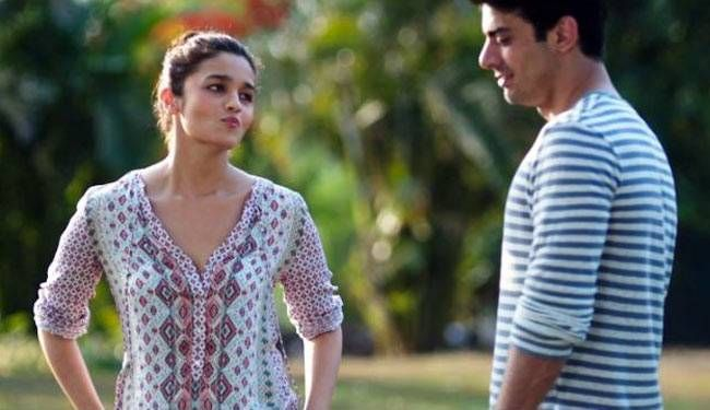 Alia Bhatt and Fawad Khan in a still from Kapoor and Sons