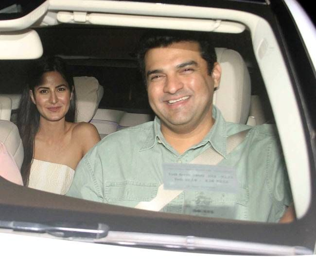 Katrina Kaif and Siddharth Roy Kapur at Fitoor screening